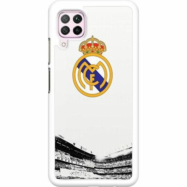 Huawei P40 Lite Hard Case (Vit) Real Madrid CF