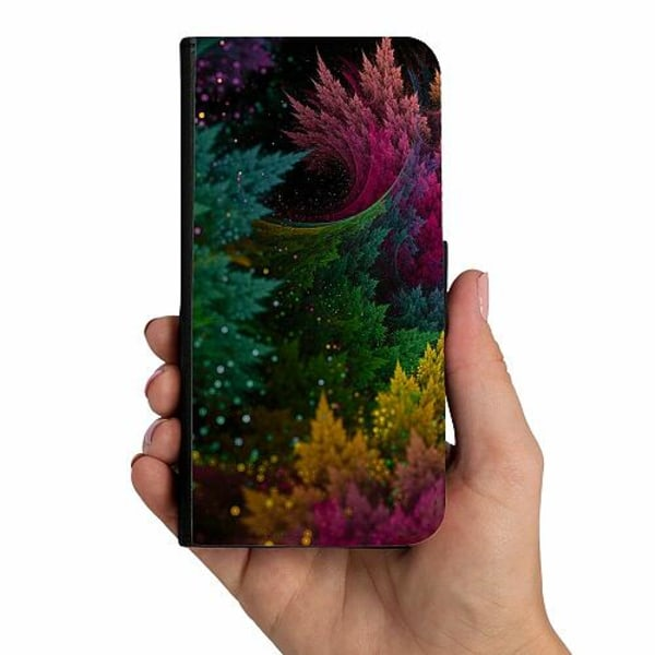 Samsung Galaxy A20s Mobilskalsväska Pixel Forest