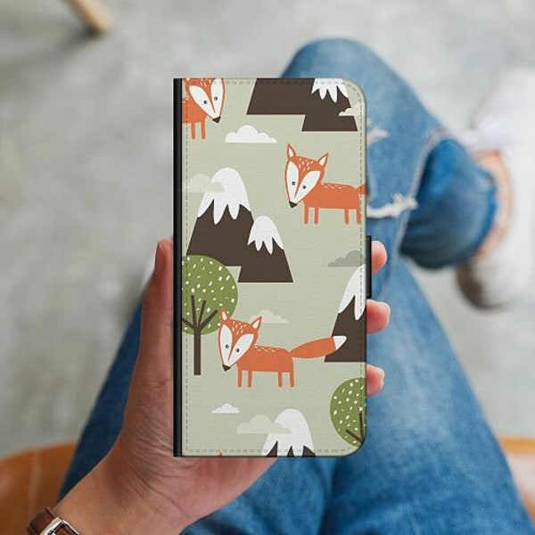 Samsung Galaxy S10 Plus Plånboksskal Alpine Foxes. Also Cute.