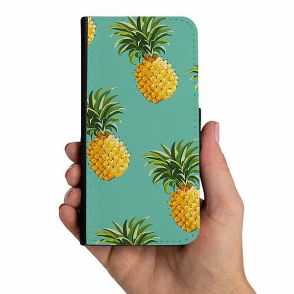 Huawei P20 Lite Mobilskalsväska Ananas