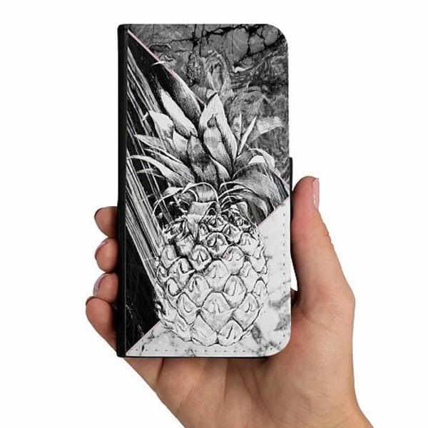 Samsung Galaxy A20s Mobilskalsväska Ananas