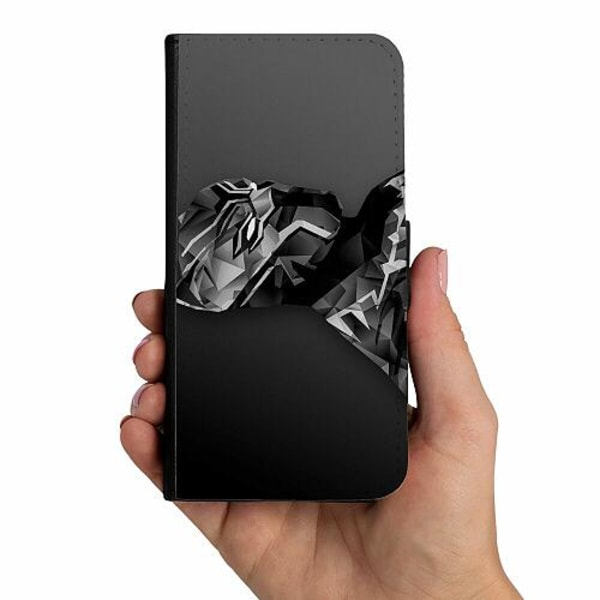 Samsung Galaxy A10 Mobilskalsväska Black Panther