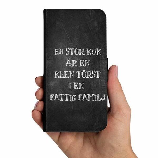 Samsung Galaxy A20s Mobilskalsväska Fattig Familj