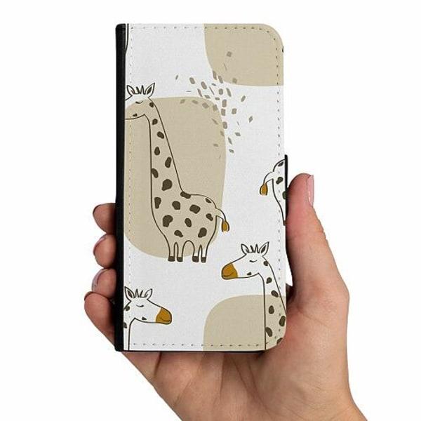 Samsung Galaxy A20s Mobilskalsväska Giraffes Good Grace