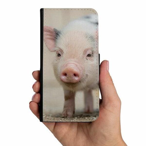 Samsung Galaxy A10 Mobilskalsväska Happy Pig