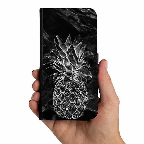 Samsung Galaxy A40 Mobilskalsväska Marmor Ananas