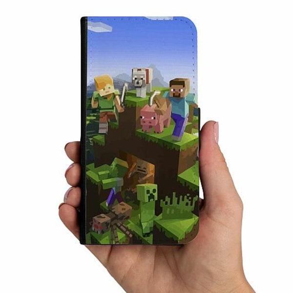 Samsung Galaxy A21s Mobilskalsväska MineCraft