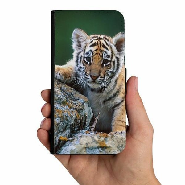 Samsung Galaxy A10 Mobilskalsväska Tiger