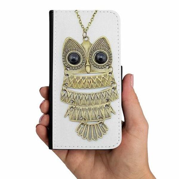 Samsung Galaxy A20s Mobilskalsväska Uggla