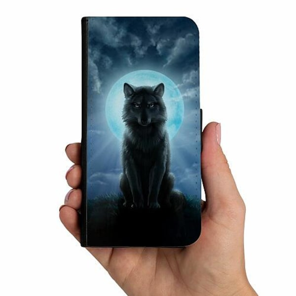 Samsung Galaxy A51 Mobilskalsväska Varg
