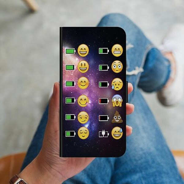 Samsung Galaxy S10 Plus Plånboksskal Emojis