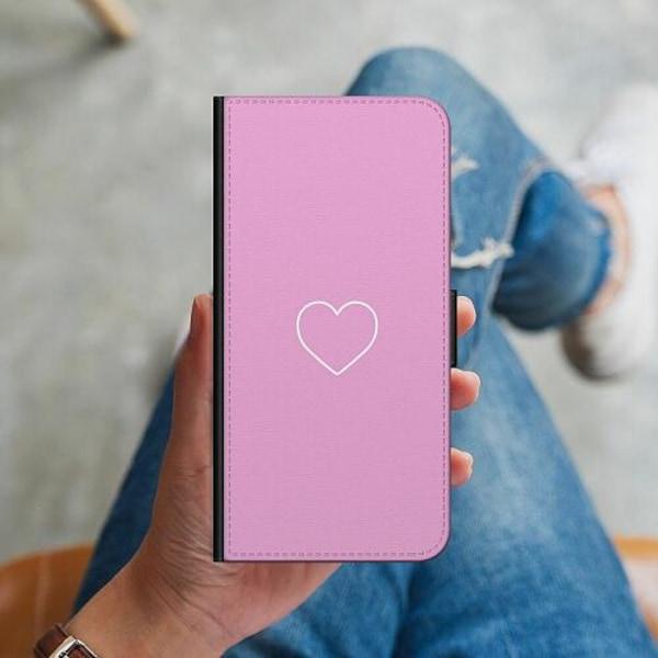 Samsung Galaxy S10 Plus Plånboksskal Hjärta