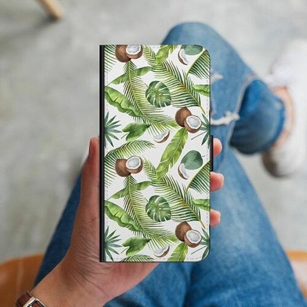 Samsung Galaxy A20s Plånboksskal Kokosnöt