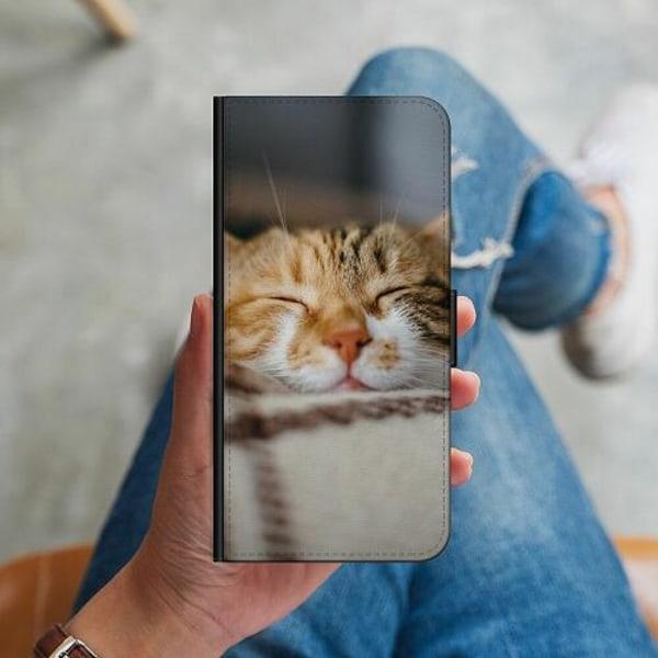 Samsung Galaxy S10 Plus Plånboksskal Sleepy Kitten