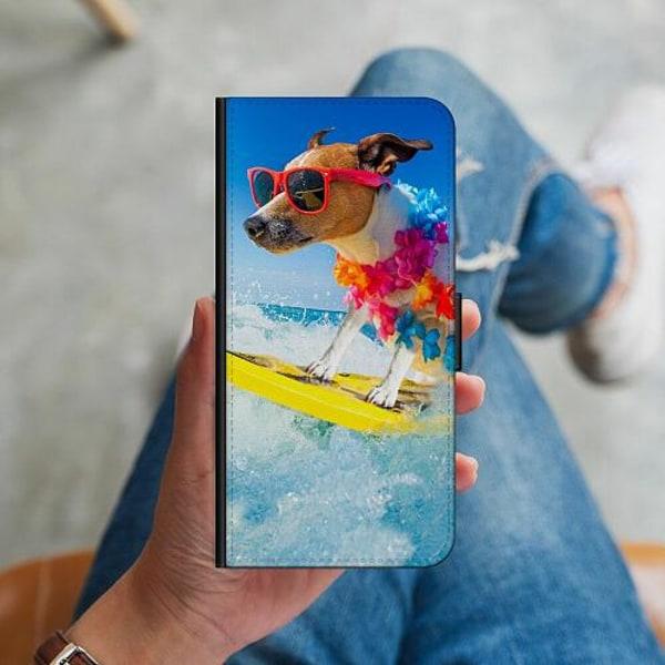 Samsung Galaxy S10 Plus Plånboksskal Surfer Dog