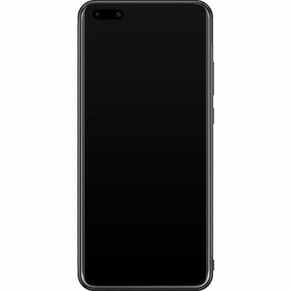 Huawei P40 Pro Soft Case (Svart) Nasa