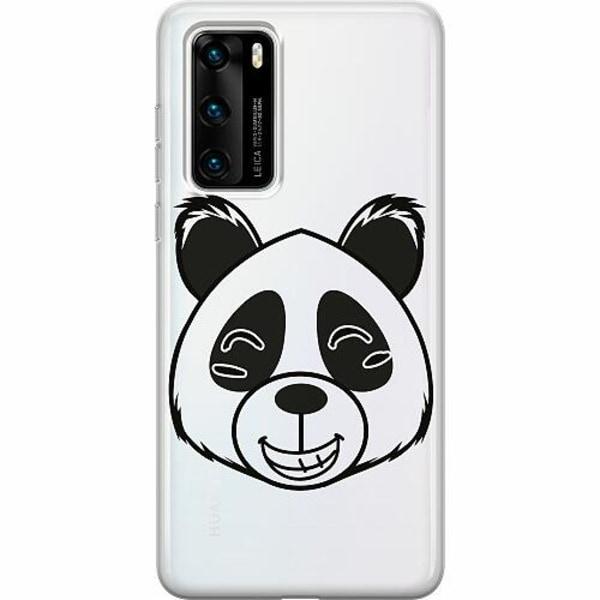 Huawei P40 Thin Case  Panda
