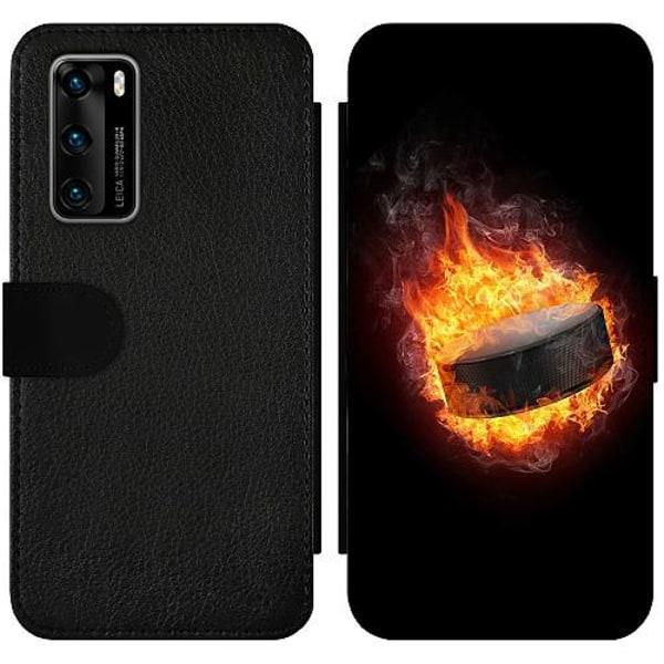 Huawei P40 Wallet Slimcase Fire Puck