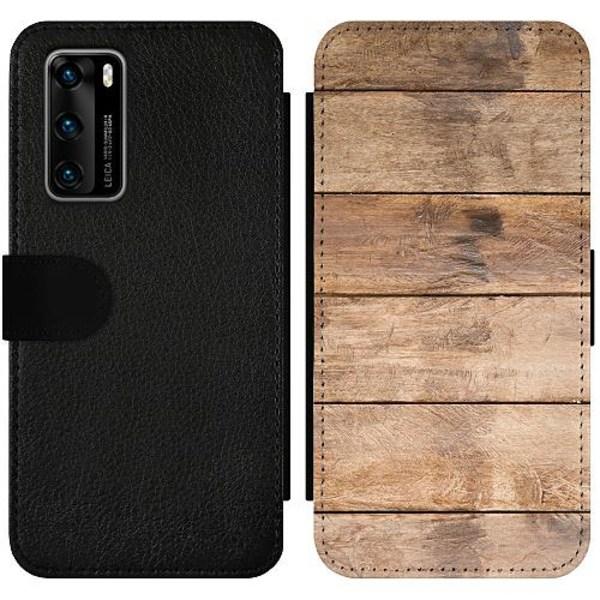 Huawei P40 Wallet Slimcase Lumber