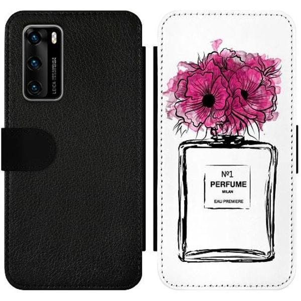 Huawei P40 Wallet Slimcase Perfume
