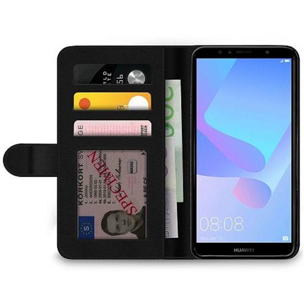 Huawei Y6 (2018) Wallet Case PUBG