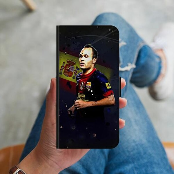 Samsung Galaxy S10 Plus Plånboksskal Andrés Iniesta