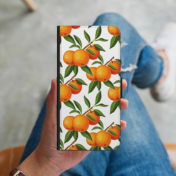 Huawei P40 Lite Plånboksskal Apelsin