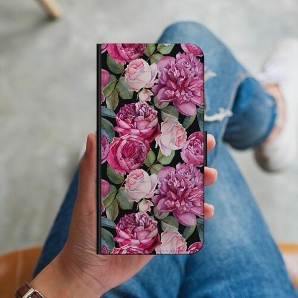 Samsung Galaxy S10 Plus Plånboksskal Blommor