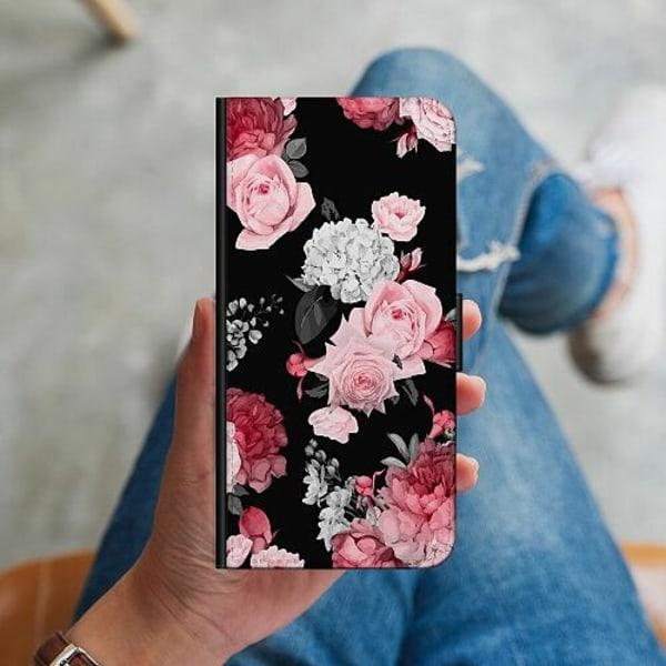 Samsung Galaxy Alpha Plånboksskal Blommor