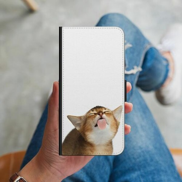 Samsung Galaxy S10 Plus Plånboksskal Cat Keeps You Clean