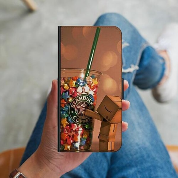 Samsung Galaxy S10 Plus Plånboksskal Coffee