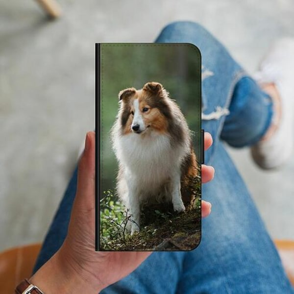 Huawei P40 Lite Plånboksskal Collie Dog