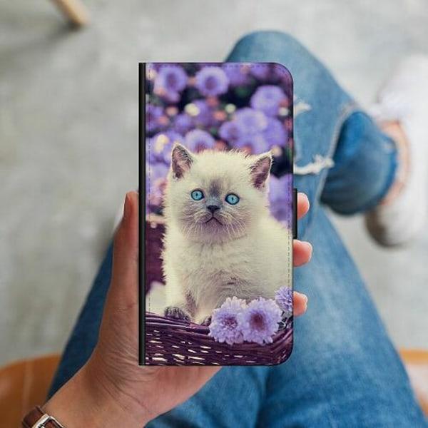Huawei P40 Lite Plånboksskal Cute Kitten