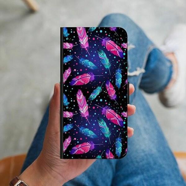 Samsung Galaxy S10 Plus Plånboksskal Fjädrar