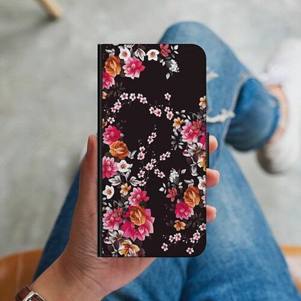 Samsung Galaxy S10 Plus Plånboksskal Flower Splash