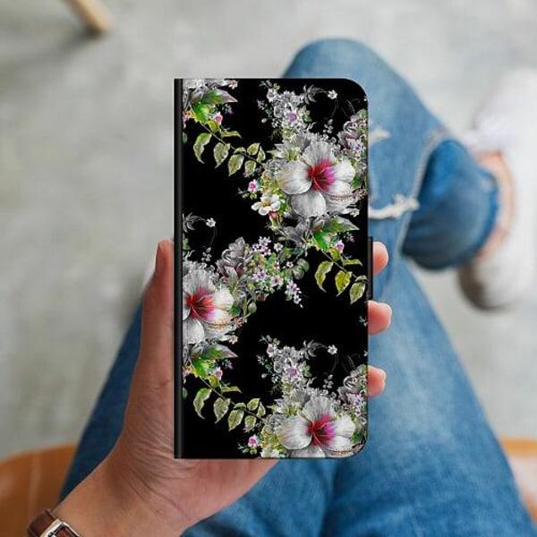 Huawei P40 Lite Plånboksskal Flower star