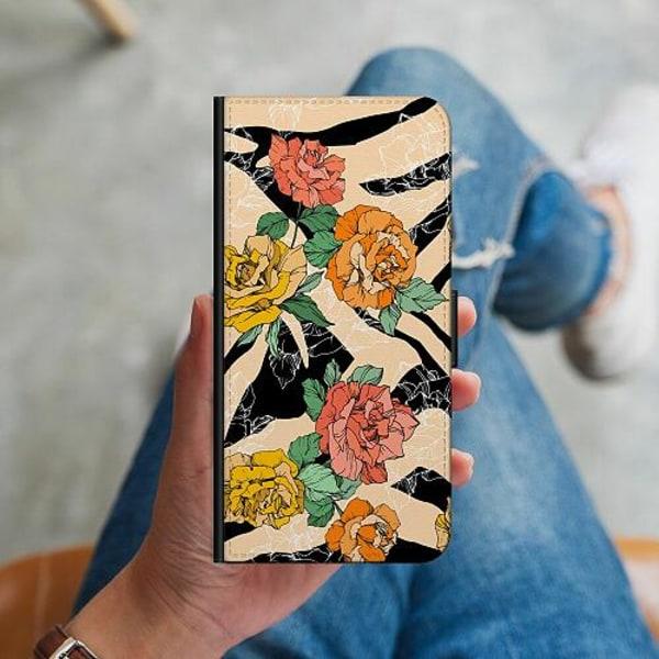 Samsung Galaxy S10 Plus Plånboksskal Flower Zebra