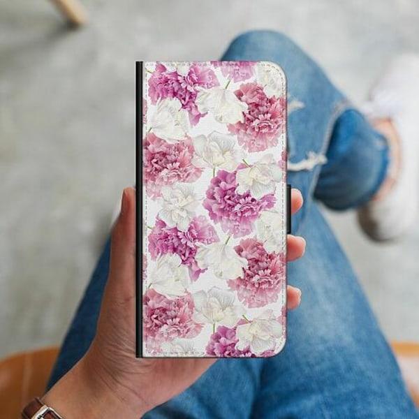 Huawei P40 Lite Plånboksskal Fluffy Flowers