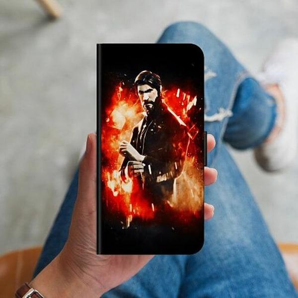 Huawei P40 Lite Plånboksskal Fortnite John Reaper