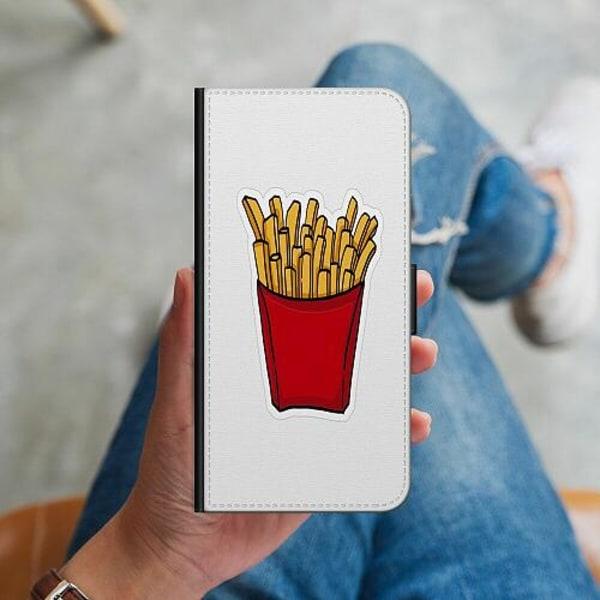 Apple iPhone 12 Plånboksskal Fries In Red
