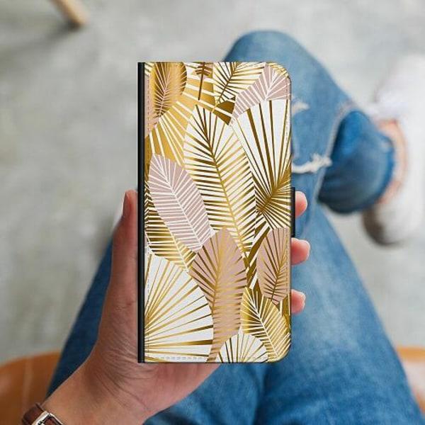 Huawei P40 Lite Plånboksskal Gold
