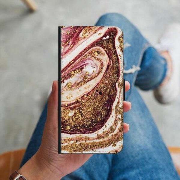 Samsung Galaxy S10 Plus Plånboksskal Golden Honey