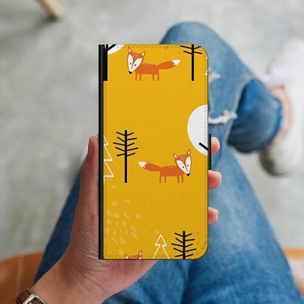 Samsung Galaxy S10 Plus Plånboksskal Happy Little Forest Foxes