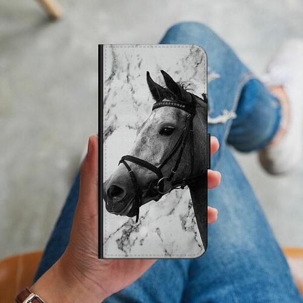 Samsung Galaxy S10 Plus Plånboksskal Häst