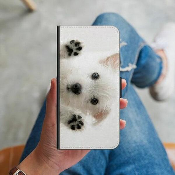 Samsung Galaxy A20s Plånboksskal Hund