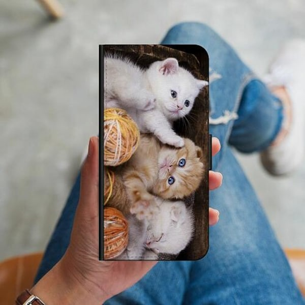 Huawei P40 Lite Plånboksskal Katter