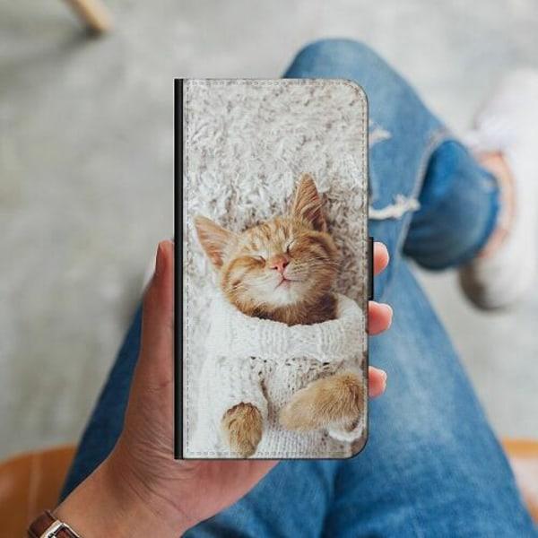 Huawei P40 Lite Plånboksskal Kitty Sweater