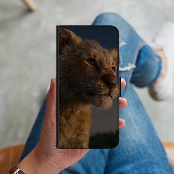 Samsung Galaxy S10 Plus Plånboksskal Lejon