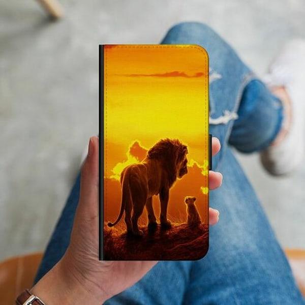 Samsung Galaxy A20s Plånboksskal Lion sun