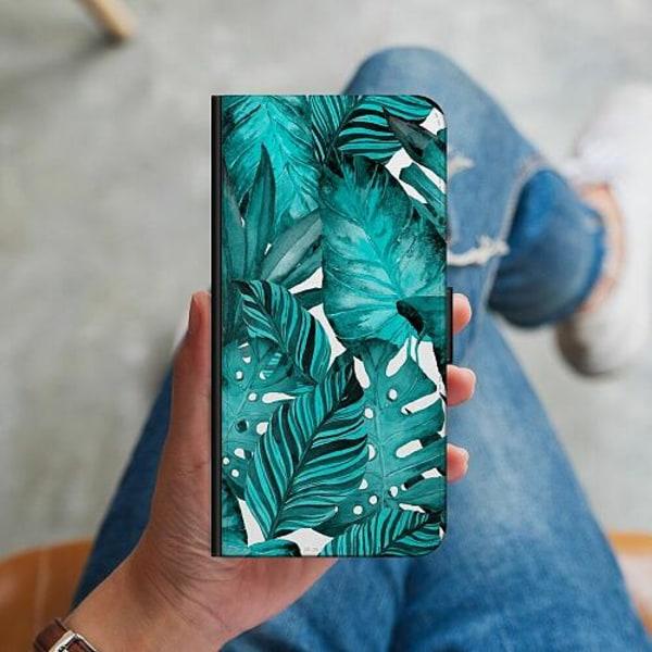 Samsung Galaxy A20s Plånboksskal Löv
